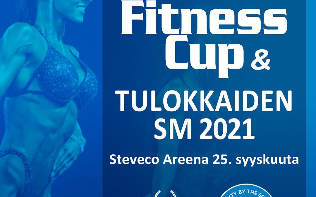 Kotka Fitness Cup 2021 Tulokkaiden SM-kilpailun kilpailijalistat
