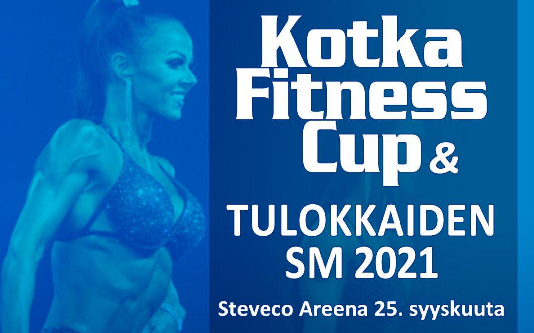 Kotka Fitness Cup 2021 viralliset pistekortit