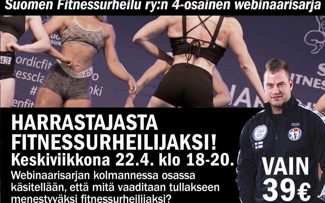 Harrastajasta fitnessurheilijaksi – webinaari!